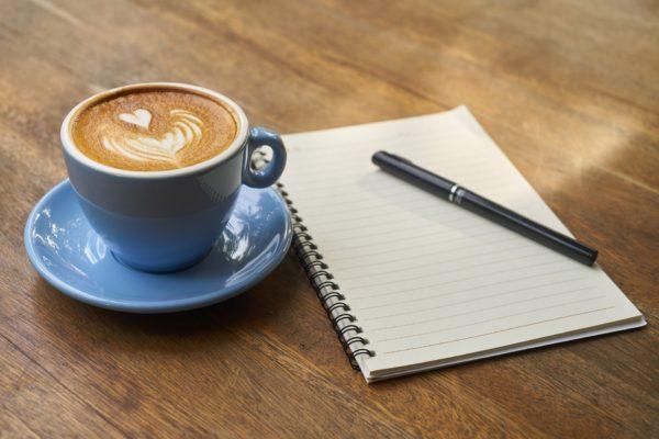 kawa z klientem